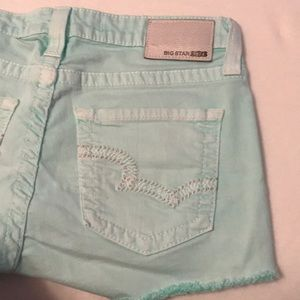 Big Star Remy Low Rise Shorts Size 29